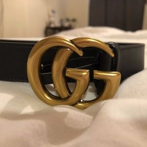 Authentic GG Leather Belt